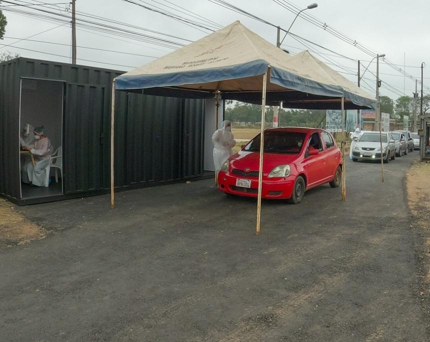 Paraguay confirmó la circulación comunitaria de la cepa de Manaos