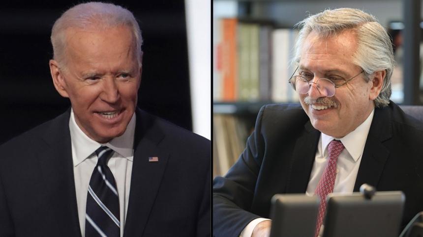 Biden invitó a Fernández a la Cumbre de Líderes sobre el Cambio Climático
