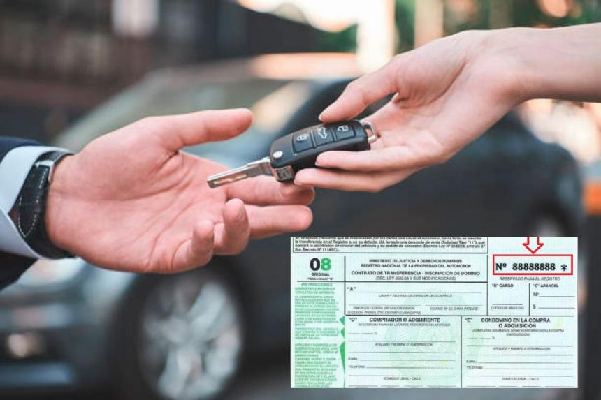Desde el lunes, habrá nuevas reglas para las transferencias de autos y motos