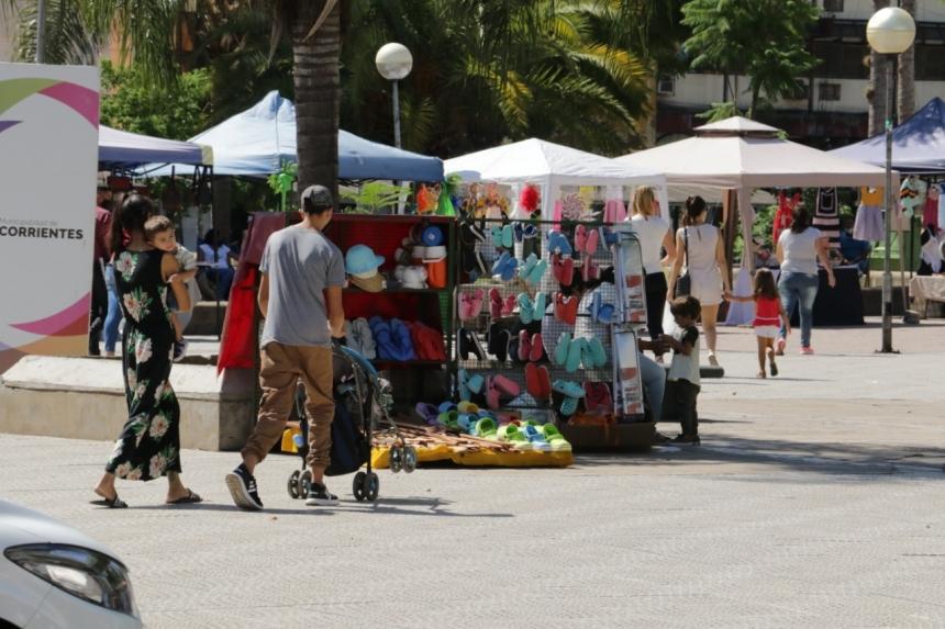 Expo Arte: realizarán obras en vivo en la plaza Cabral